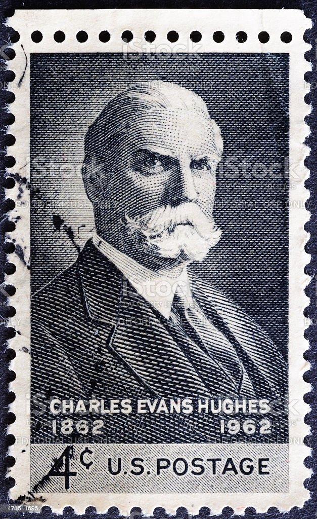 Charles Evans Hughes royalty-free stock photo