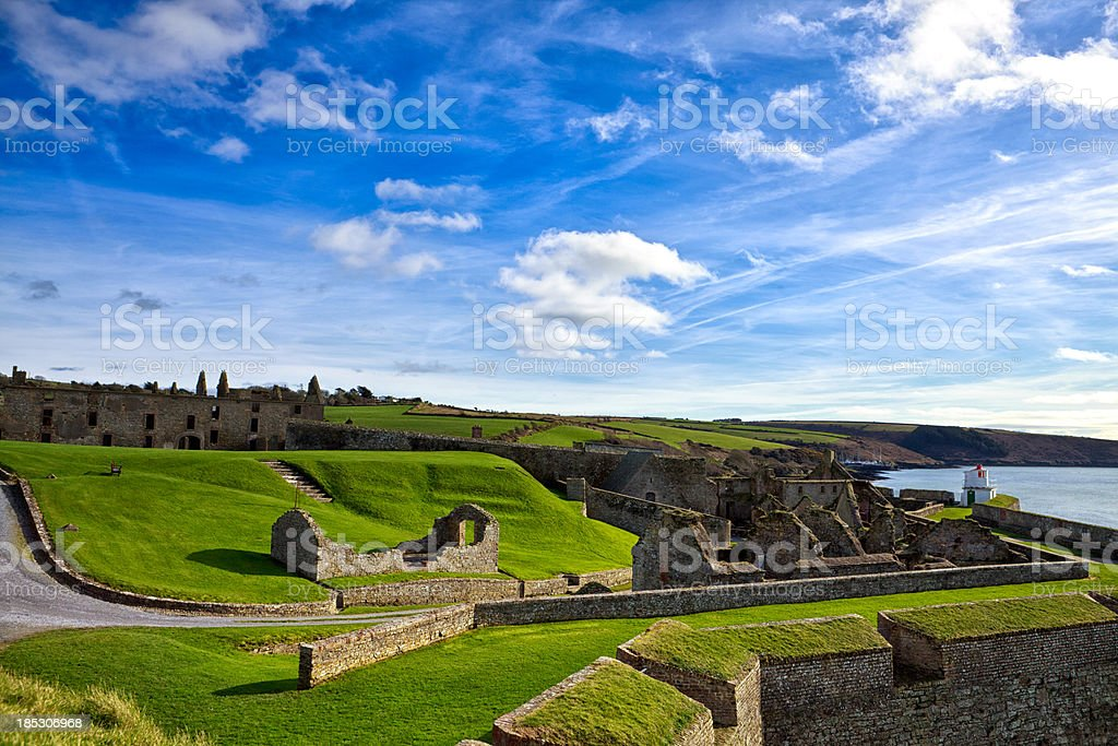 Charles Fort Kinsale County Cork Ireland stock photo