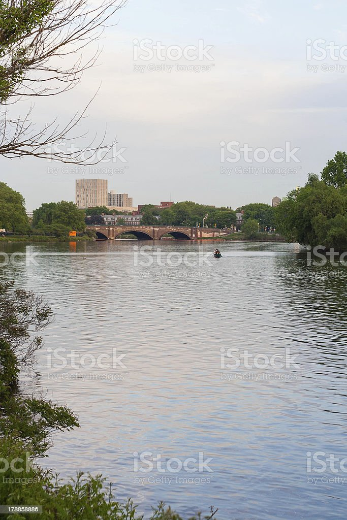 Charles River Cambridge royalty-free stock photo
