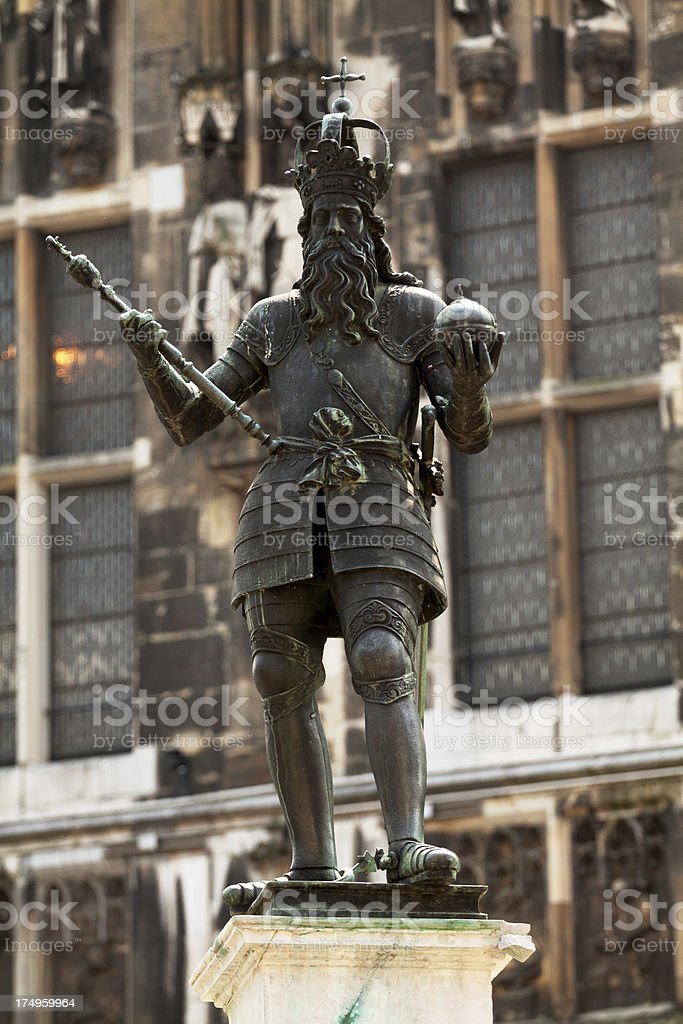 Charles the Great royalty-free stock photo