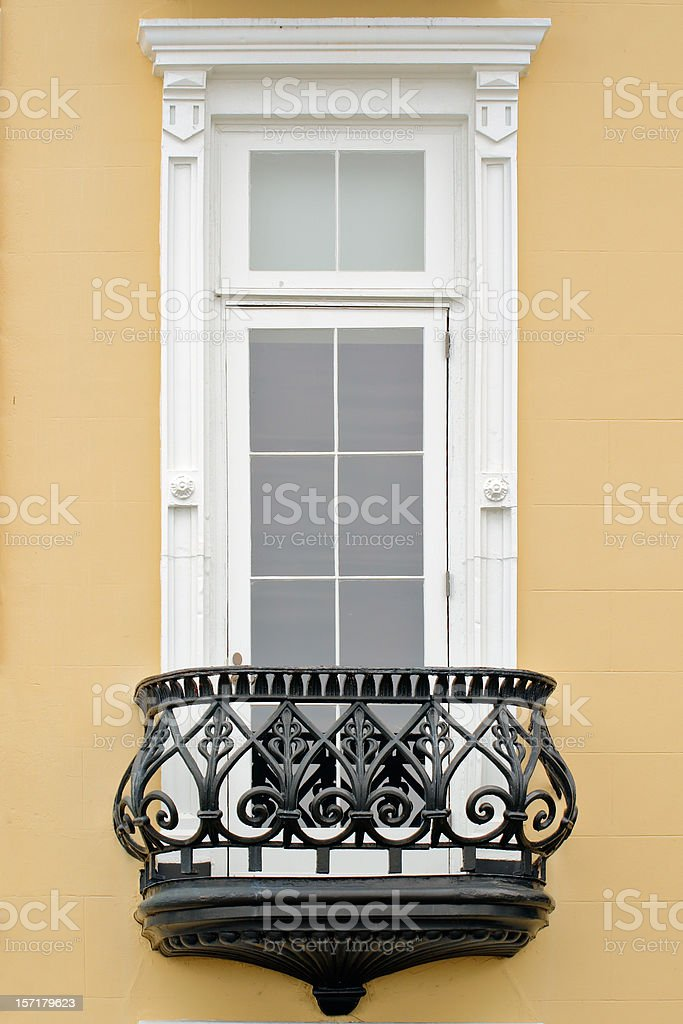 Charleston architectural detail royalty-free stock photo