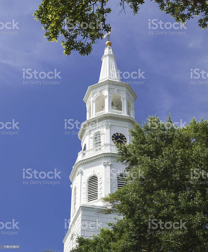 Charleston Church stock photo