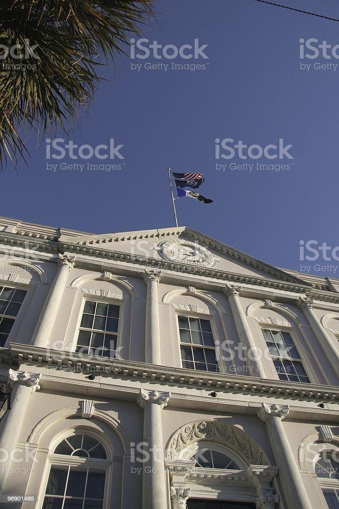 Charleston City Hall royalty-free stock photo