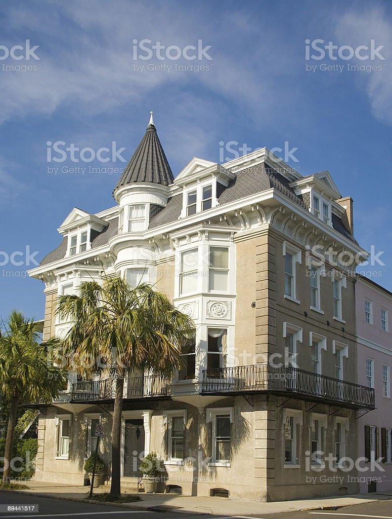 Charleston : Historique House photo libre de droits