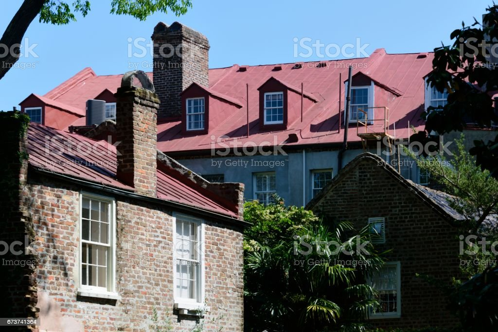 Charleston Güney Carolina mimarisi royalty-free stock photo