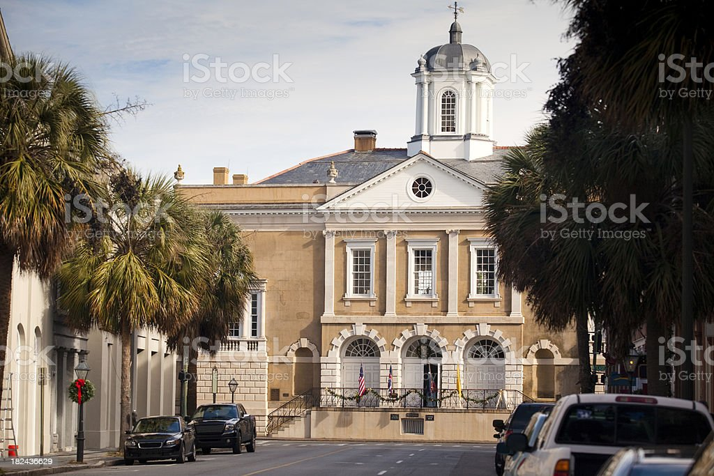 Charleston South Carolina royalty-free stock photo