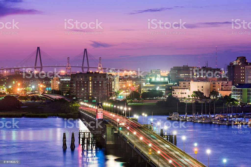 Charleston South Carolina stock photo