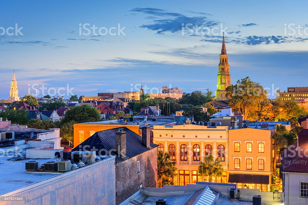 Charleston, South Carolina stock photo