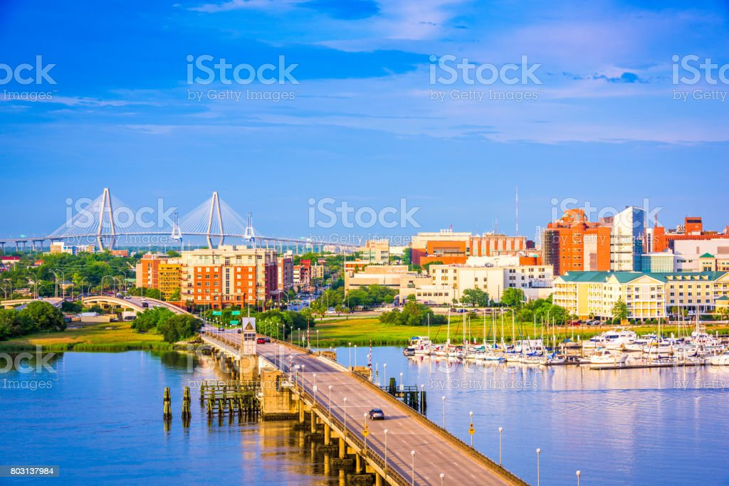 Charleston, South Carolina, USA stock photo