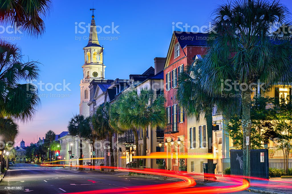Charleston Townscape stock photo