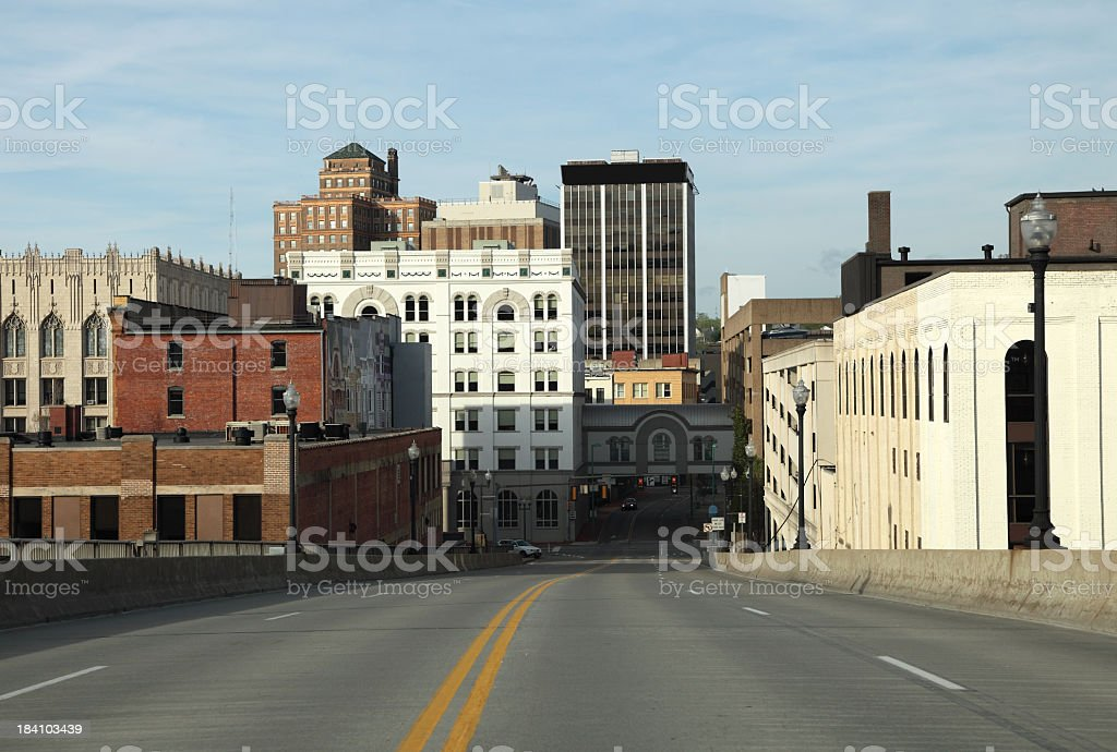 Charleston, West Virginia royalty-free stock photo