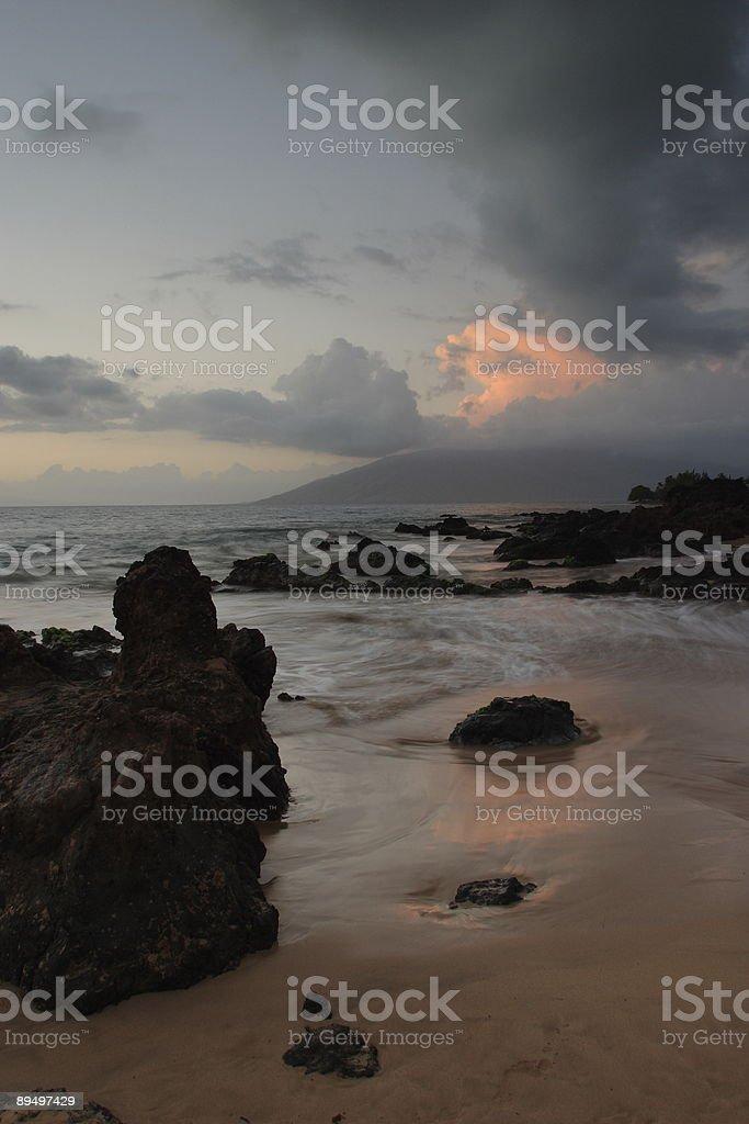 Charley Young Beach royaltyfri bildbanksbilder