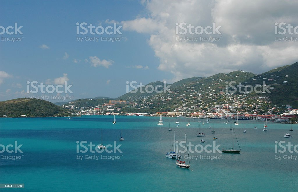 Charlotte Amalie St. Thomas royalty-free stock photo