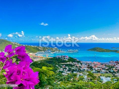 istock Charlotte Amalie, St Thomas, US Virgin Islands 1221735934