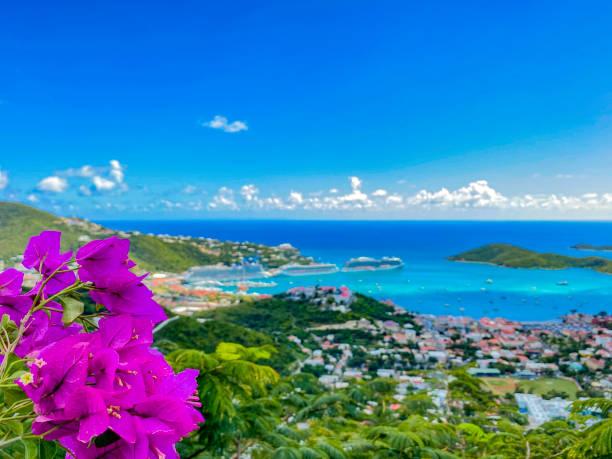 Charlotte Amalie, St Thomas, US Virgin Islands stock photo
