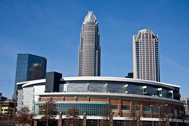 Charlotte Bobcats Arena stock photo