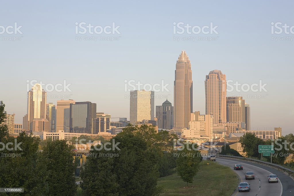 Charlotte, NC royalty-free stock photo