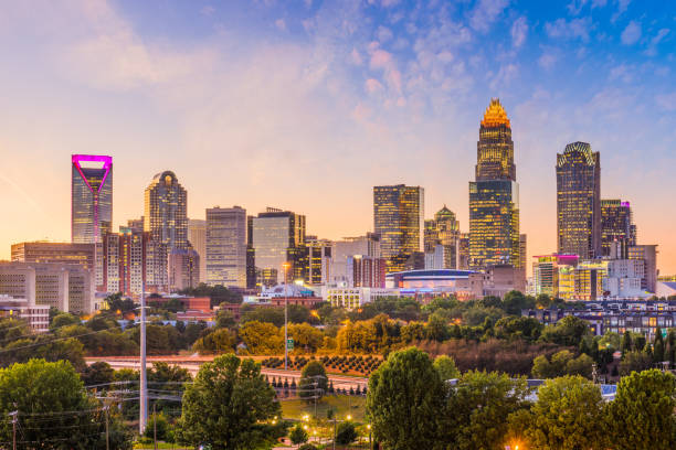 Charlotte Skyline Stock Photos Pictures amp Royalty Free