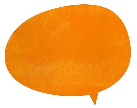 istock Charlotte orange speech globe 882465086