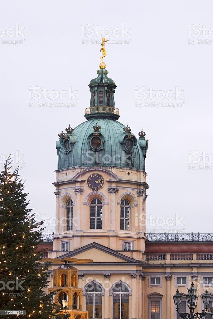 Charlottenburg Christmas Market royalty-free stock photo