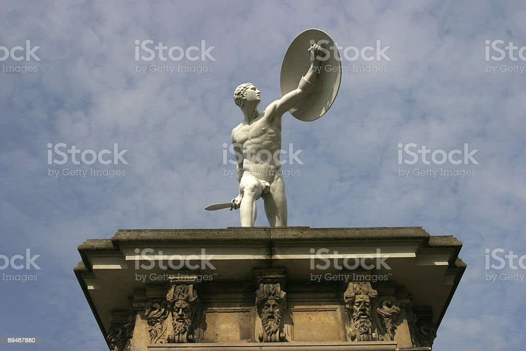 Charlottenburg Palace, Berlin royalty-free stock photo