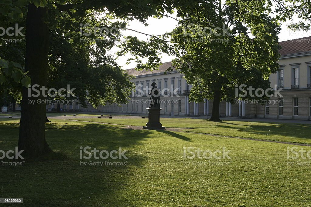 Castello di Charlottenburg, Berlino foto stock royalty-free