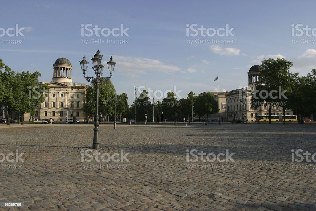 Charlottenburg Palace, Berlin royalty-free stock photo
