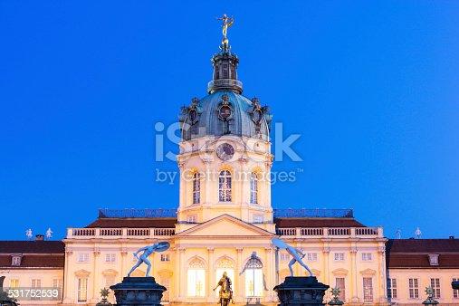 istock Charlottenburg Palace entrance in Berlin 531752539