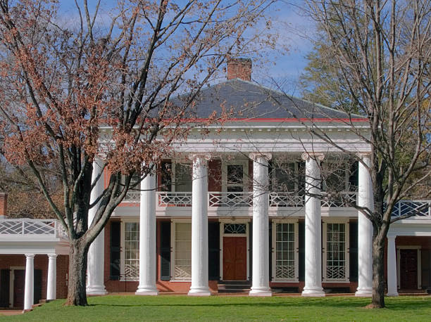Charlottesville - University of Virginia  charlottesville stock pictures, royalty-free photos & images