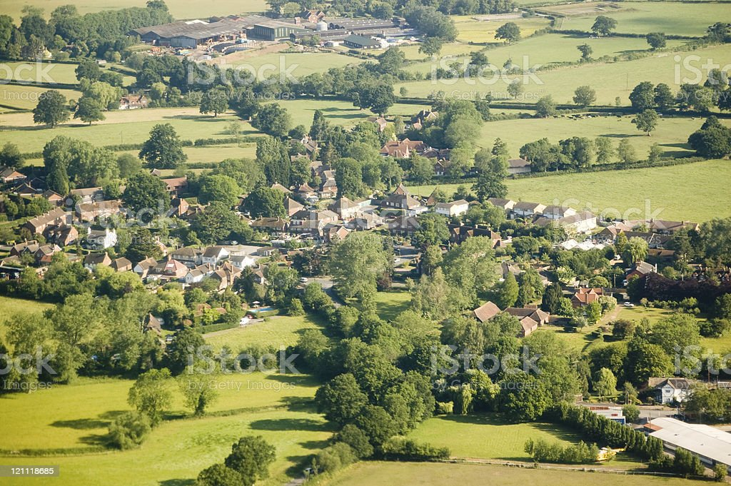 Charlwood village, Surrey stock photo