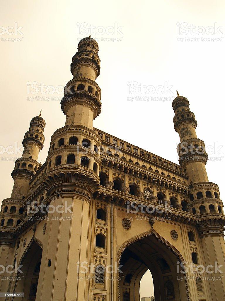 Charminar, Hyderabad, India stock photo