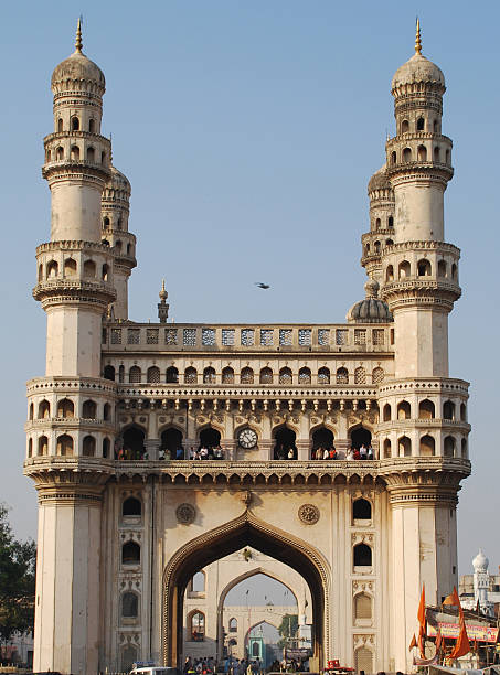 charminar Historical monument in Hyderabad char minar stock pictures, royalty-free photos & images