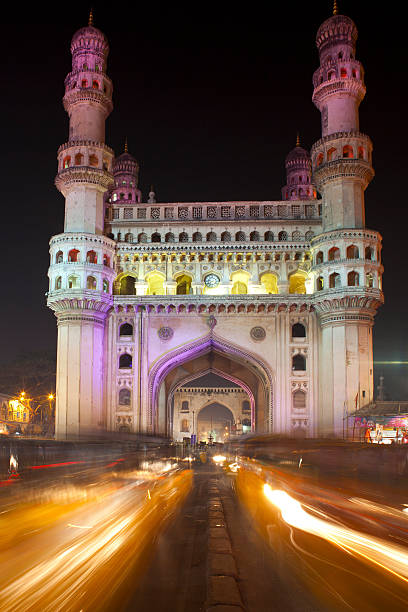 Charminar Charminar, famous monument and mosque in Hyderabad. India char minar stock pictures, royalty-free photos & images