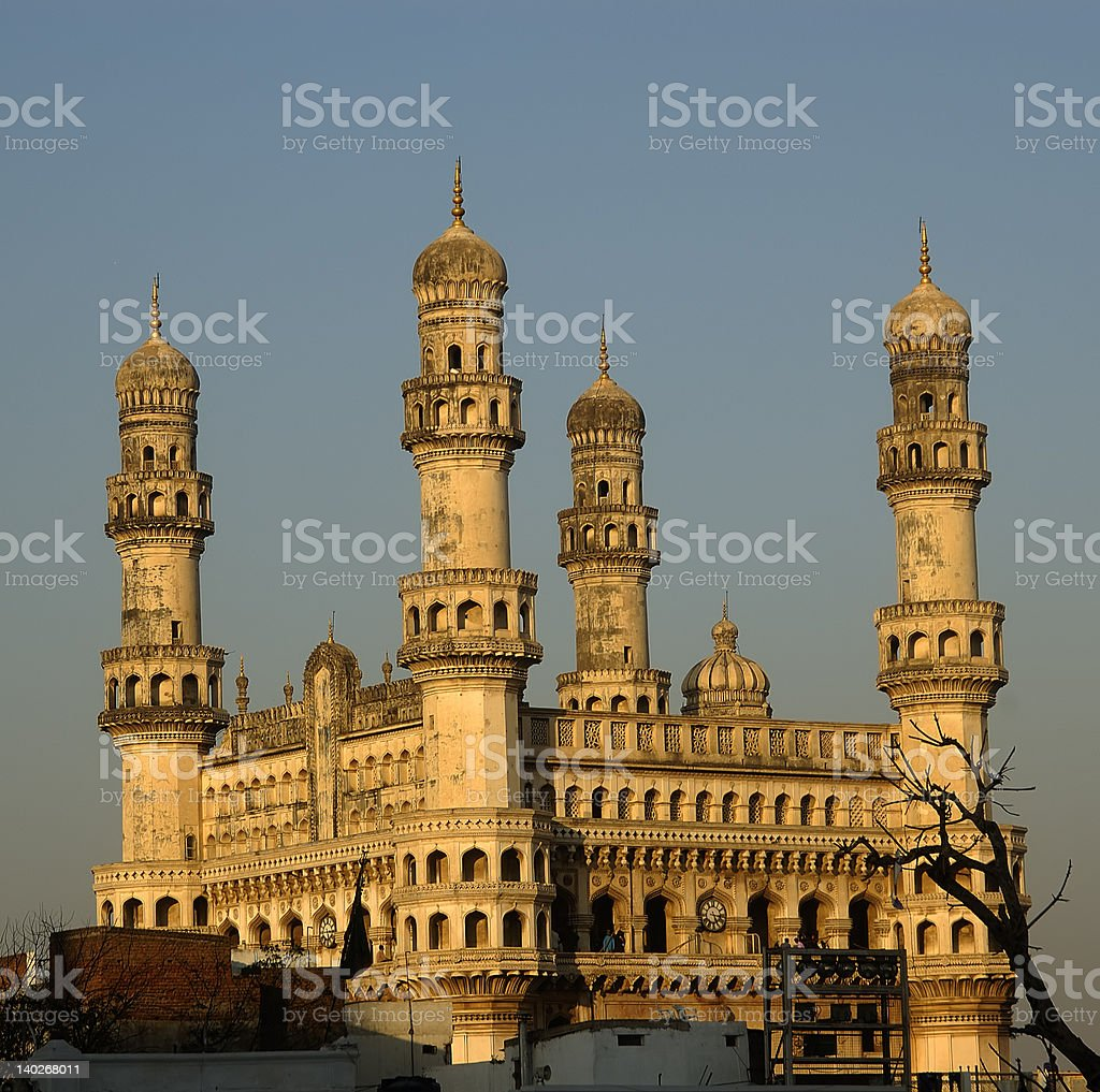 Charminar Side View royalty-free stock photo