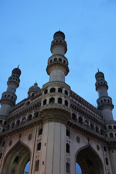 Charminar Towers Hyderabad, India Charminar a prominant landmark in Hyderabad, India char minar stock pictures, royalty-free photos & images
