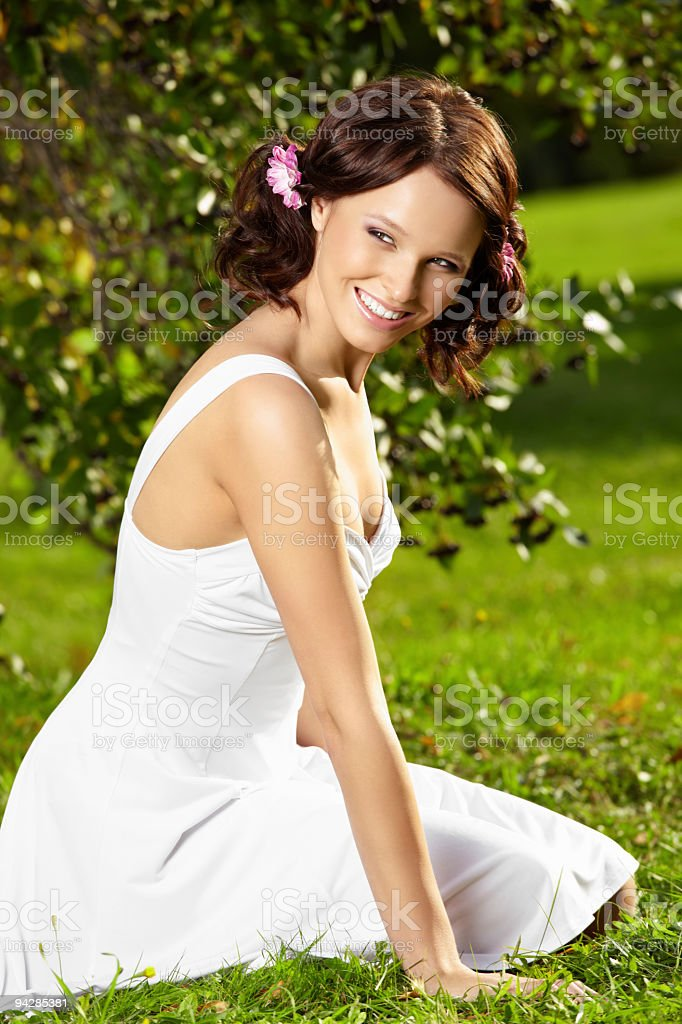 Charming girl royalty-free stock photo
