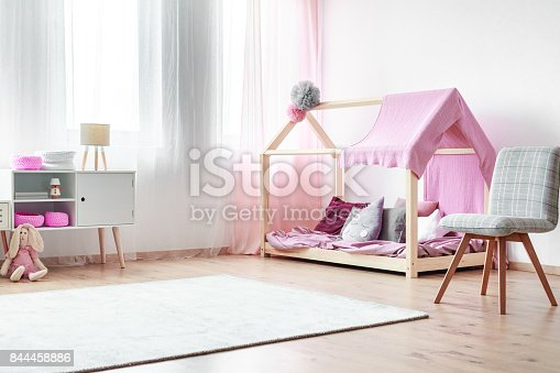 1213866189 istock photo Charming girls bedroom 844458886