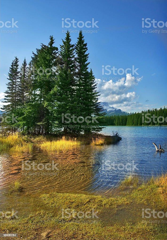 Charming island. royalty-free stock photo