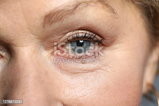 istock Charming lady and facial picture 1276670232