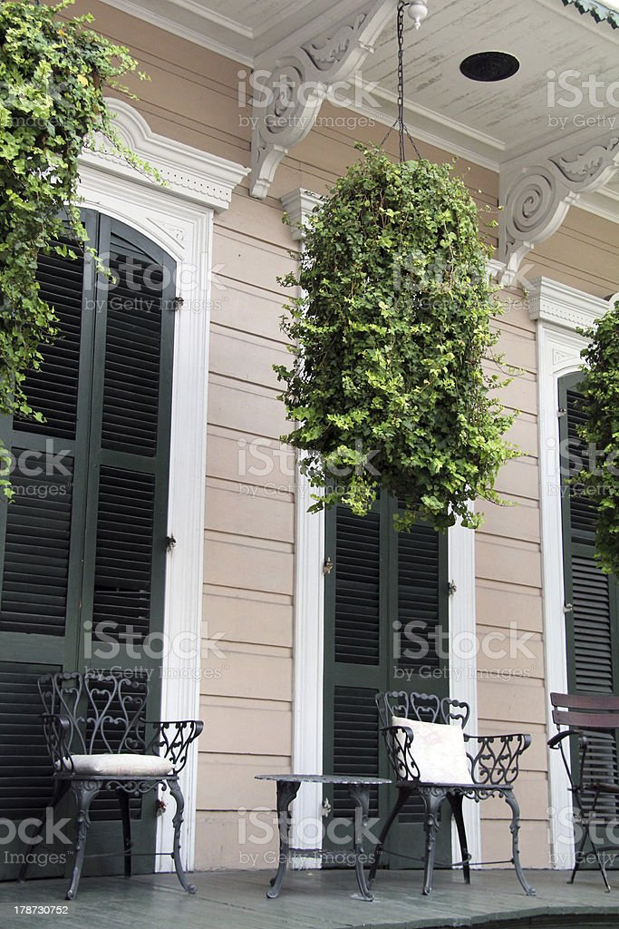 Charming Porch stock photo
