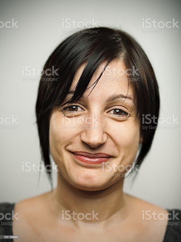 Charming woman royalty-free stock photo