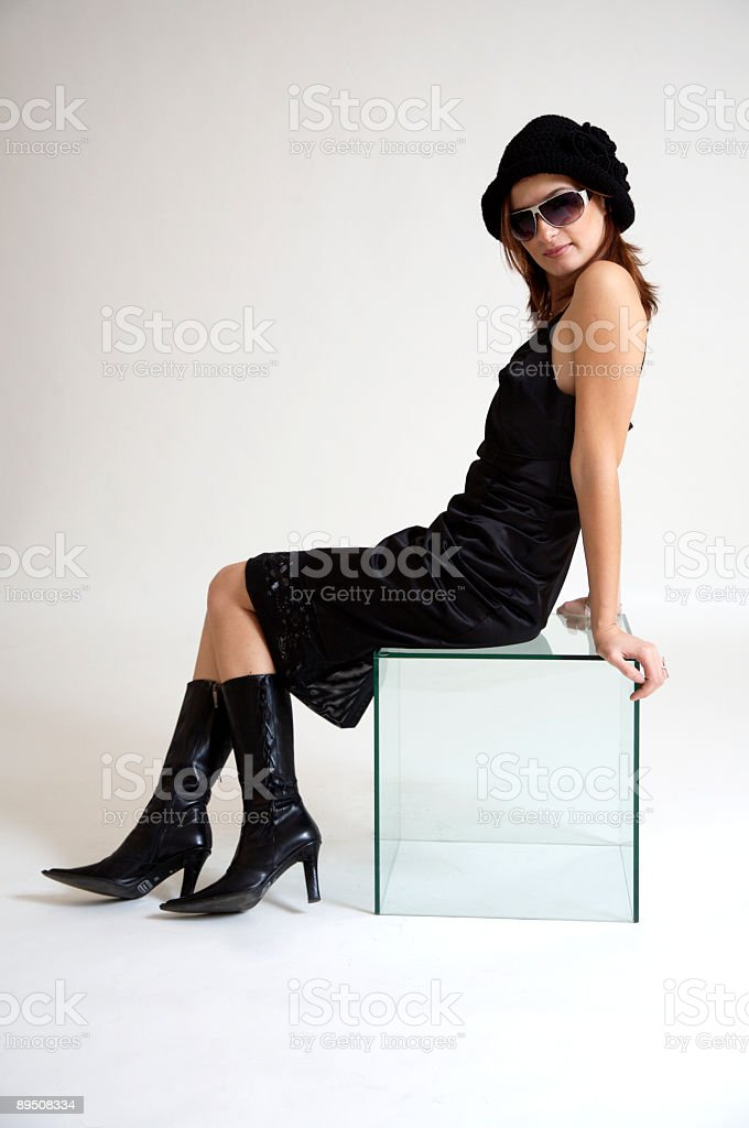 Charming woman royalty-free stock photo