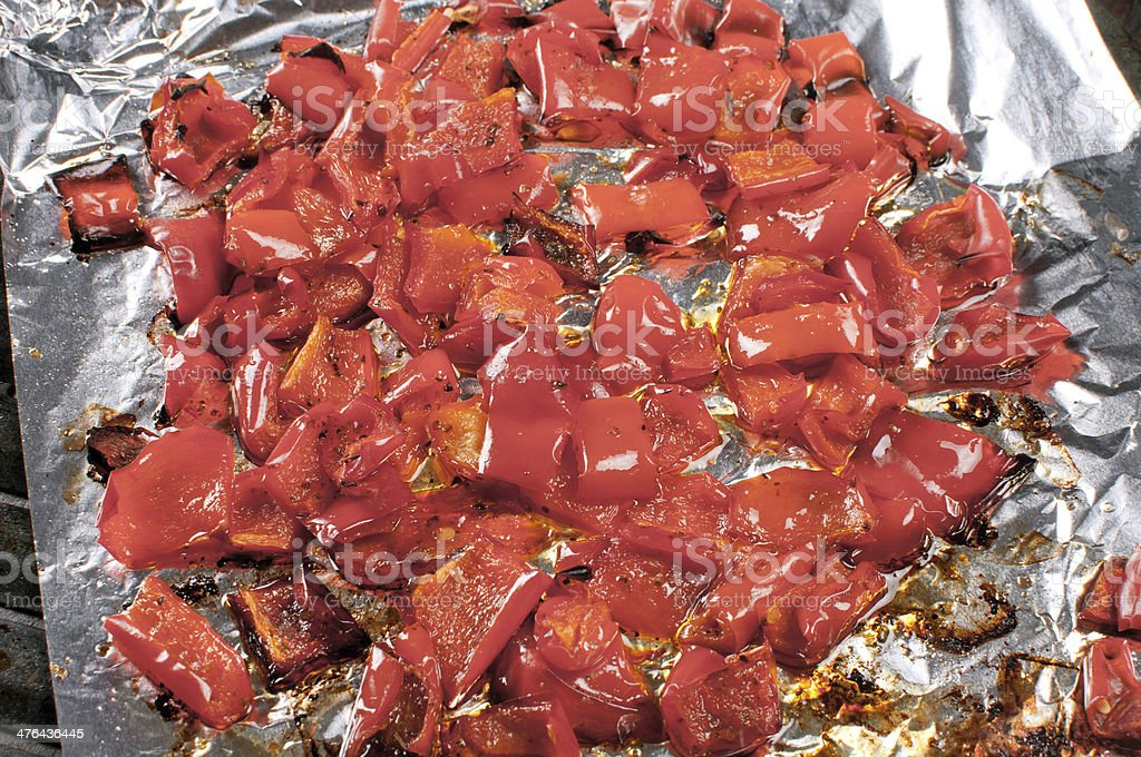 Charred red pepper paprika royalty-free stock photo