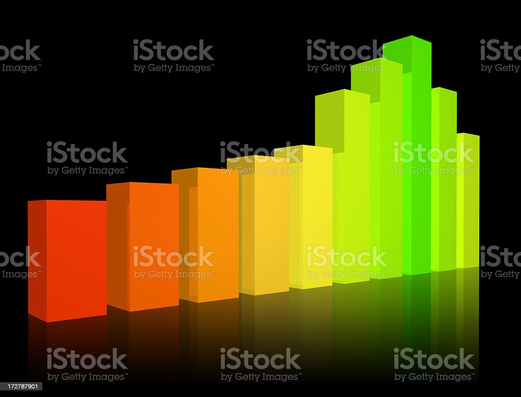 Chart, Bars, Diagram royalty-free stock photo