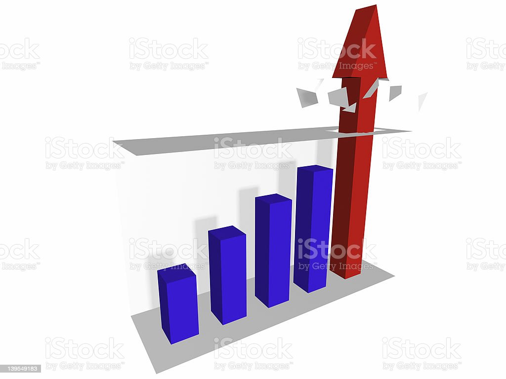 Chart Buster 1 royalty-free stock photo