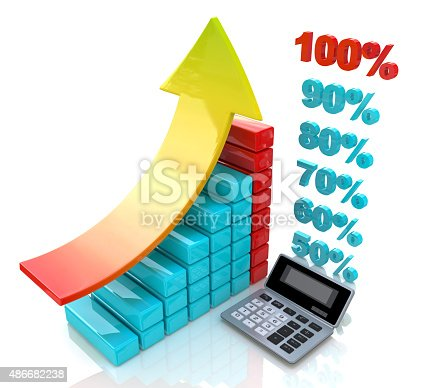 486678786 istock photo Chart economic profit 486682238