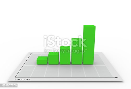 istock 3D chart going up 881857758