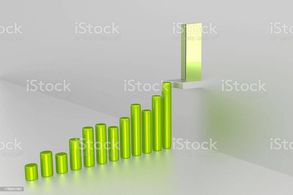 Chart - Good Results royalty-free stock photo