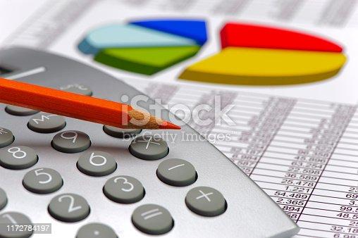1158207931 istock photo Chart of stock market and exchange 1172784197