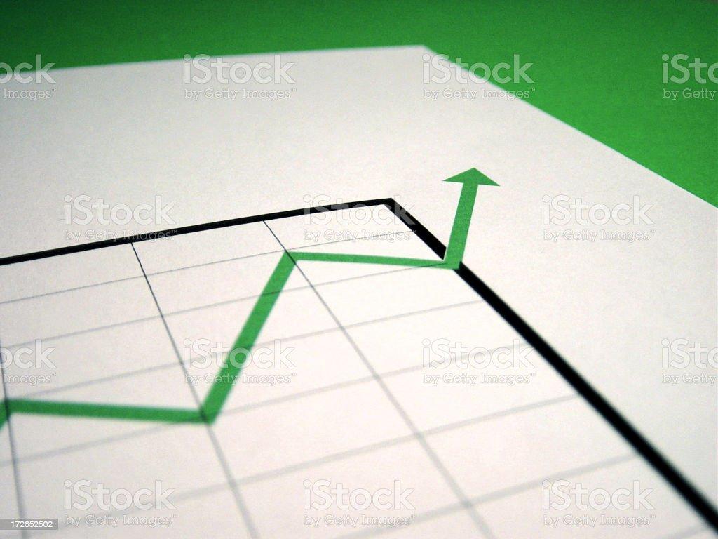 chart  positive 2 royalty-free stock photo